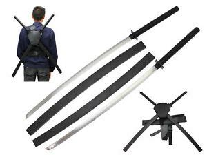 41 75 quot deadpool dual two swords with x back harness carrying scabbard ebay