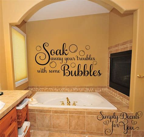 bubble bath wall decal bathroom decal bathroom sticker