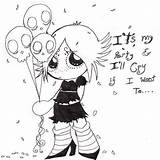 Coloring Gloom Ruby Google Anime Sketches Designlooter Sheets sketch template