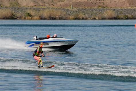 Water Skiing Lake Havasu City California Usa