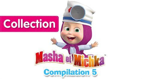 masha et michka сompilation 5 20 minutes dessins anim 233 s en fran 231 ais 2016