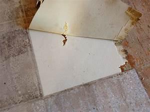 Enlever Colle Moquette Sur Beton : r novation de ma maison enlever des dalles de lino dalles pvc ~ Nature-et-papiers.com Idées de Décoration