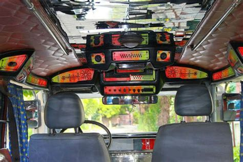 philippine jeepney inside jeepney for sale in panglao bohol philippines