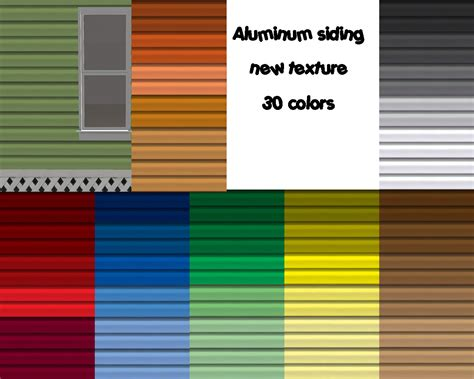 aluminum siding aluminum siding paint colors