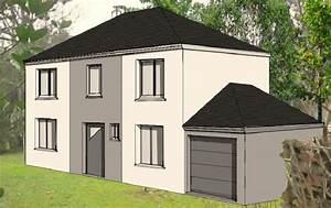 Plan Facade Maison : la maison le blog de la construction de notre maison maelys ~ Melissatoandfro.com Idées de Décoration