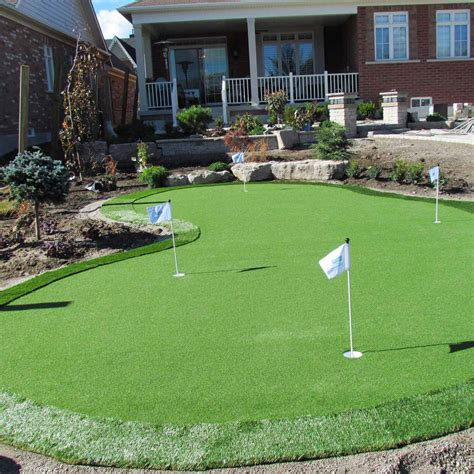 Backyard Artificial Putting Green - 19 cool backyard putting greens the family handyman