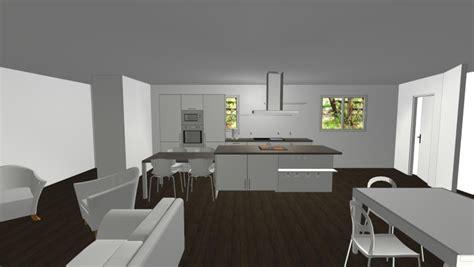 interieur de maison design de cuisine idees