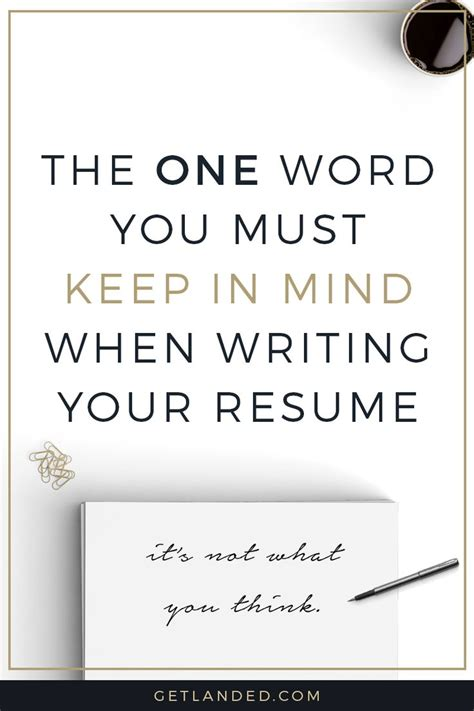 tips for writing a resume all resume simple
