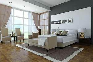 Wandfarbe Grau Schlafzimmer : schlafzimmer wandfarbe ausw hlen und ein modernes ambiente gestalten ~ Markanthonyermac.com Haus und Dekorationen