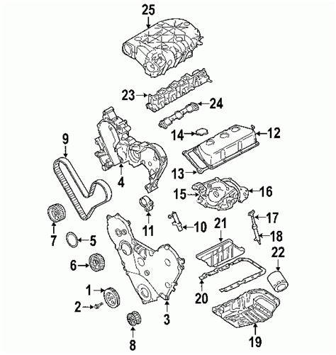 2006 chrysler pacifica parts diagram automotive parts