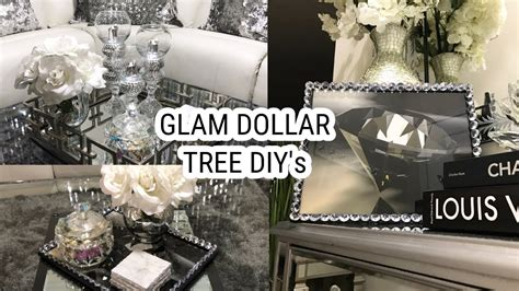 table centerpiece ideas dollar tree diy home decor ideas glam mirror coffee