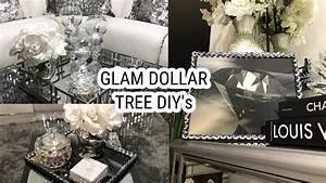 Dollar Tree DIY Home Decor Ideas Glam Mirror Coffee