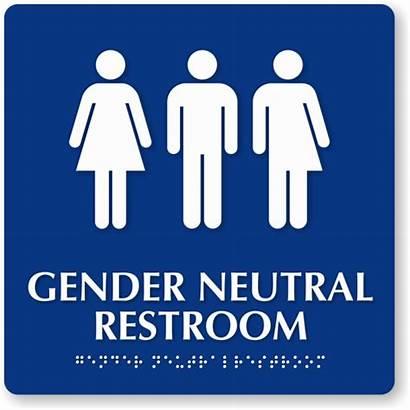 Gender Neutral Restroom Signs Bathroom Sign Identity