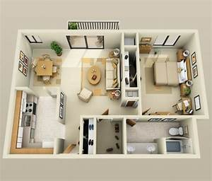 les 25 meilleures idees de la categorie decor de bureau With plan d appartement 3d 0 eyredeco decoration dinterieur