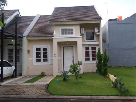 desain rumah minimalis modern type  bagian depan
