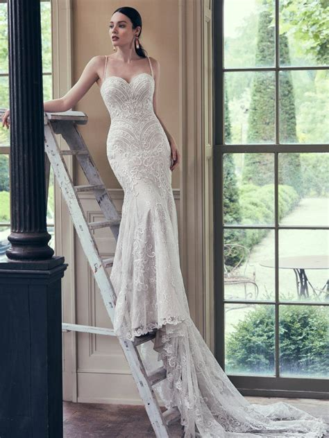 whitney wedding dress bridal gown maggie sottero