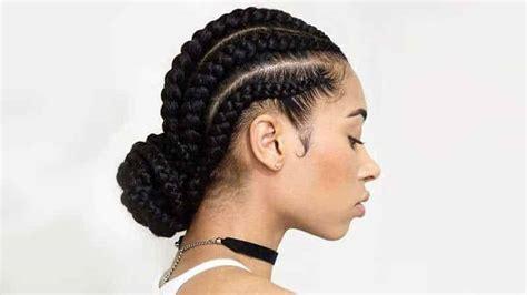 flattering goddess braids updo hairstyles  women