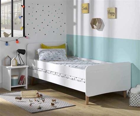 lit enfant willow blanc  cm avec pieds