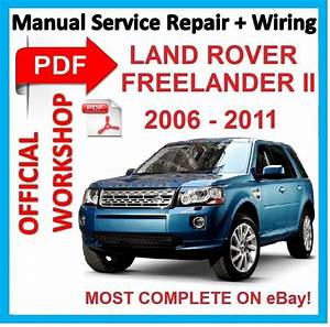 Official Workshop Manual Service Repair For Land Rover