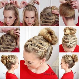 Simple Hairstyle Tutorials To Make Your Hair Look