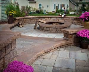Menards Patio Paver Kits by Every Backyard Needs An Outdoor Fire Pit Install It Direct