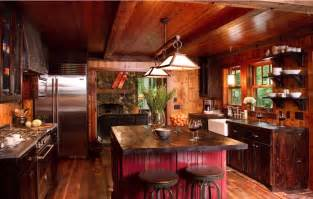 kitchen rock island 10 rustic kitchen designs that embody country freshome
