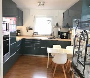 Ikea Küche L Form : eure k che sieht viel gr er aus ikea fertiggestellte ~ Michelbontemps.com Haus und Dekorationen