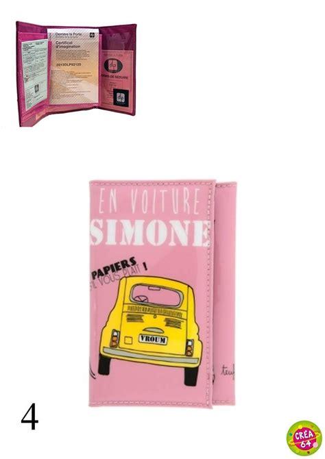 Porte Papier Voiture Femme by Porte Papiers De Voiture Femme Dlp Crea 64 Oloron