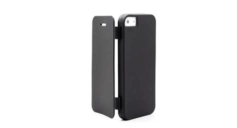 open iphone 5 3 63 matte tpu flip open for iphone 5 black at
