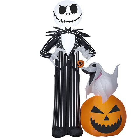light  inflatable jack skellington ft  nightmare