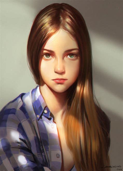 Jannine Weigel Girl By Liang Xing On Deviantart