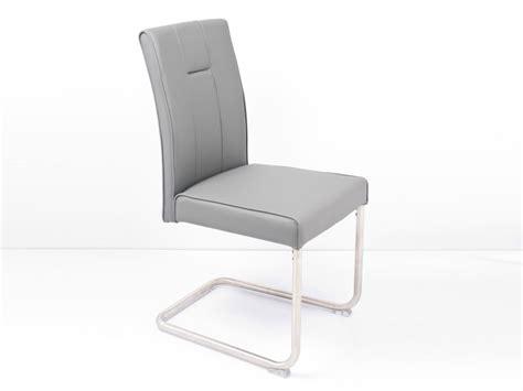 chaise de salle a manger grise chaise design grise