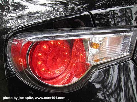 2015 brz tail lights 2015 brz exterior photos and images