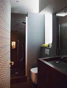 Salle De Bain 5m2 : optimiser l espace dans un appartement de 35 m2 marie ~ Dailycaller-alerts.com Idées de Décoration