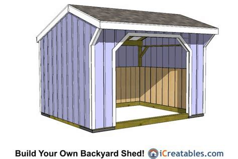 Free Shed Blueprints 12x12 by 12x12 Run In Shed Plans 12x12 Shed Plans 10x12 Shed