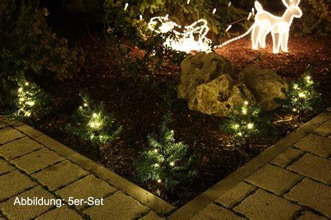 Beleuchtete Weihnachtsdeko Garten by Mini Tannen Deko Weihnachten Garten