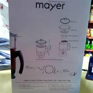 new mayer healthy steamer multi pot 1 8l mmmp 09 worth