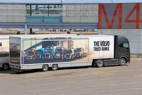 volvo truck range volvo fh semi trailer shows volvo trucks range editorial