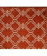 sale brand new pottery barn sale brand new pottery barn scroll tile orange area rug 5x8 rugs carpets
