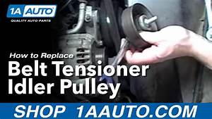 How To Replace Belt Tensioner 92