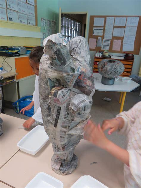 le en papier mache r 233 alisation en papier m 226 ch 233 atelier plastique