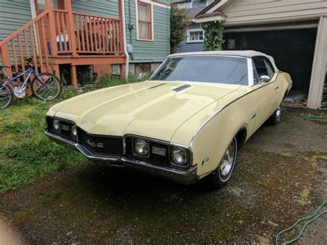 rare muscle car 1968 442 oldsmobile convertible buy