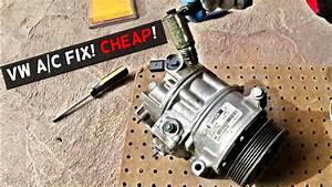 Vw Ac Compressor Fix Cheap  Vw A  C Compressor Not Working