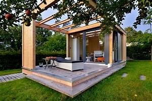 Gartenhaus Mit Glasfront : gartenlounge 2 0 eckiges design gartenhaus werner ettwein gmbh ~ Sanjose-hotels-ca.com Haus und Dekorationen