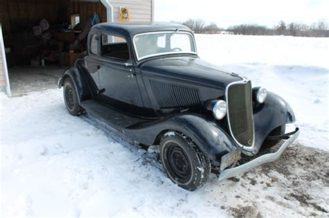 ford  window coupe barn find  sale