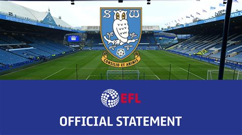 EFL Statement: Sheffield Wednesday verdict - News - EFL ...