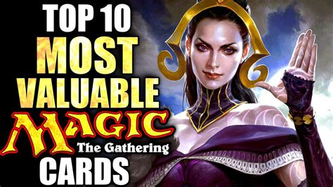 Top 10 Most Valuable Magic The Gathering Cards Doovi
