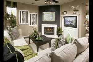 candice olson living room w corner fireplace deco2