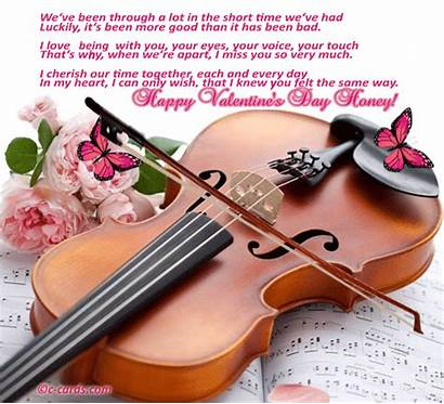 Violin Quotes Poems Card Greeting Poetry Valentine