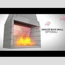 Firerock Pre Engineered Masonry Fireplace Youtube
